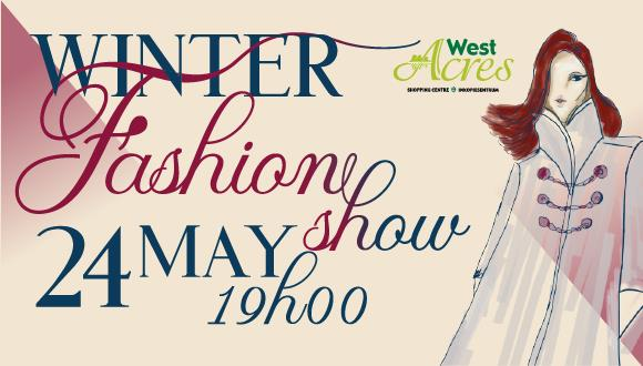 Be blown away by the West Acres Winter Fashion Show the 24th of May 2017. Ordina...