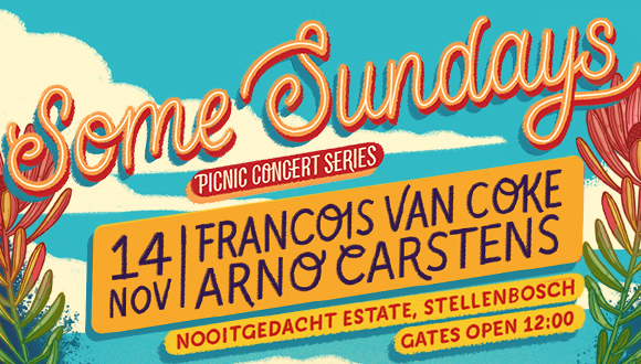 Some Sundays and De Grendel Wines presents: Francois van Coke and Arno Carstens ...