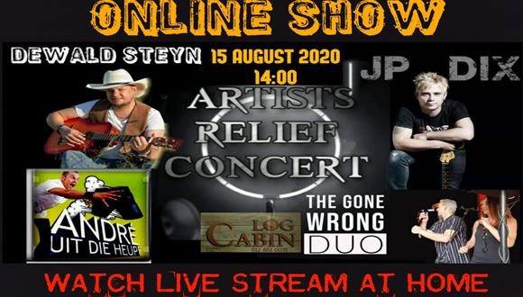 ONLINE SHOW4 Brilliant Local Artists Preforming Live On The 15th August 2020. A ...