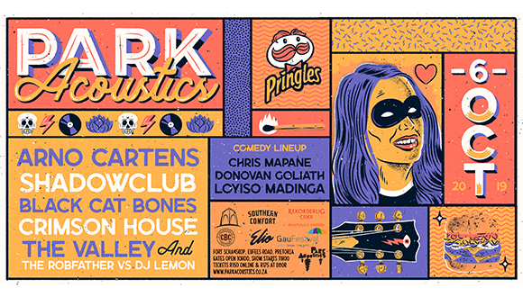 Park Acoustics and Pringles proudly invites legendary SA front man Arno Carstens...