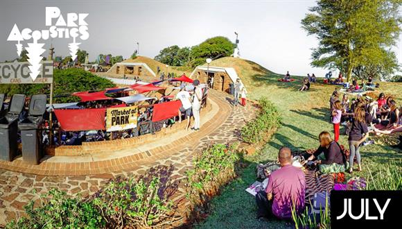 Live music shows inside Fort Schanskop which is located on the same property as ...