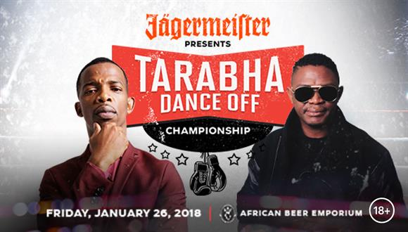 Jägermeister presents The Tarabha Dance Off Championships between Zakes Bantwini...