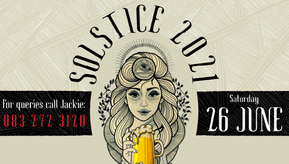 We are celebrating 15 years of Solstice at The Ale House in Broederstroom on 26 ...
