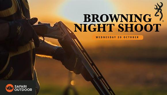 Safari Outdoor is hosting a Browning Clay Night Shoot at Wattlespring shooting r...