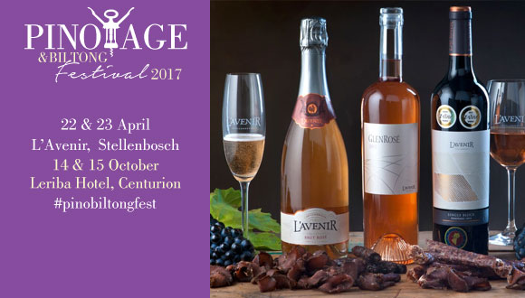 Indulge in two of SA's favourite delicacies at the  annual Pinotage & Biltong Fe...