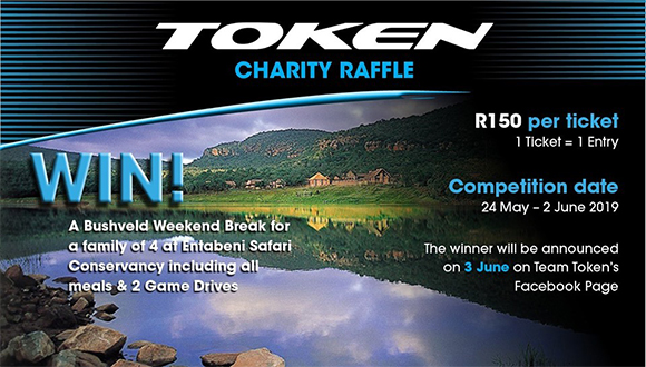Now you too can get involved with raising funds for Team TOKEN & Chances of Hope...
