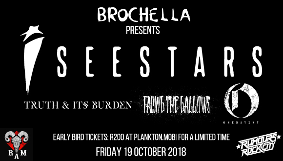 For the first time on African soil, Brochella brings electronic hardcore band I ...
