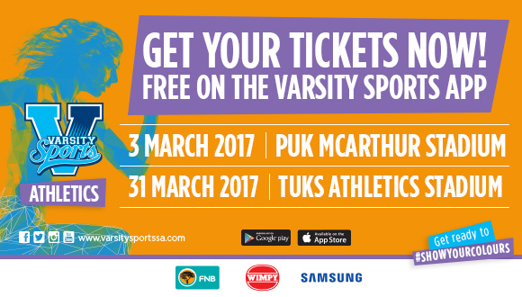 Varsity AthleticsVarsity Athletics will be hosted by NWU PUKKE and the Universit...
