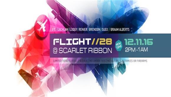 * Flight 12 November 2016 ** Scarlet Ribbon *** NEW TIME: 14:00-01:00 *** Openin...