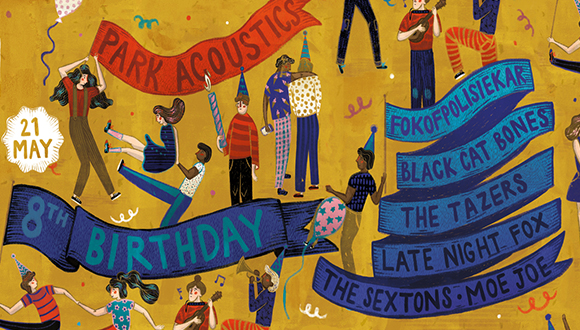 It's our birthday! Park Acoustics is turning 8 years old and we're celebrating i...