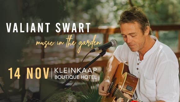 Fresh air, flavorful food and music by the talented Valiant Swart. What more cou...