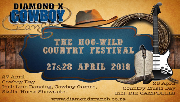 This day is hosted by Diamond X Cowboy Ranch and SA Country Music Artist Foundat...