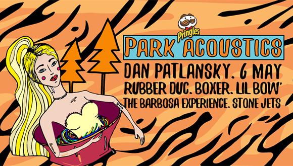 "Park Acoustics in partnership with Pringles proudly presents Dan Patlansky's ""Pe..."
