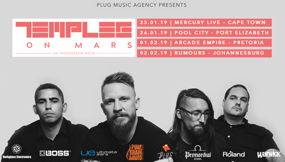 Temples on Mars in association with Plug Music Agency and PureGrainAudio are exc...