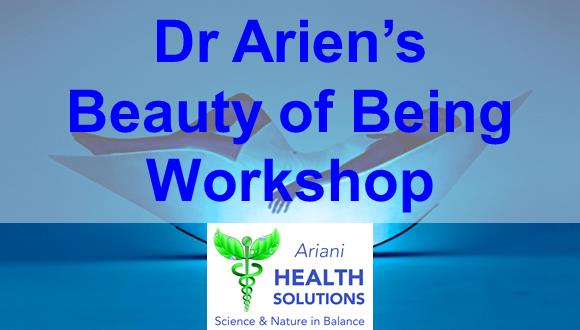 Your ticket includes a 4- Hour workshop facilitated by Dr Arien, refreshments, l...
