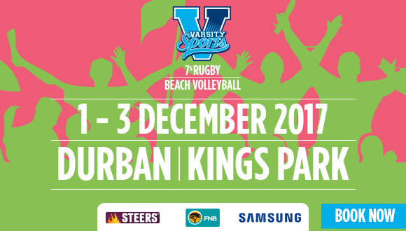 Durban are you ready! Varsity Sports presents the 2017 edition of the Varsity 7s...