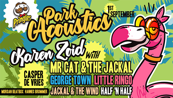 Park Acoustics in partnership with Pringles proudly presents our spring edition ...