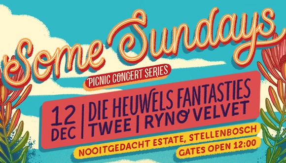 Some Sundays and De Grendel Wines presents: Die Heuwels Fantasties live at Nooit...