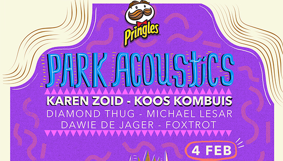 Park Acoustics in partnership with Pringles proudly presents Karen Zoid and frie...