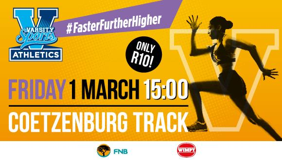 Varsity Athletics will be hosted by University of Stellenbosch, MATIES and the N...