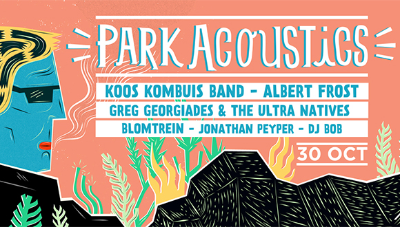 Park Acoustics are extremely proud to welcome back the legendary Koos Kombuis ba...