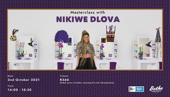 We are proud to announce an intimate masterclass weaving workshop hosted by Niki...