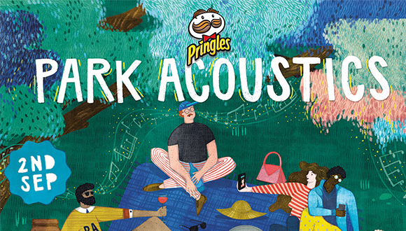 Park Acoustics and Pringles proudly presents Parks Spring Edition with Spoegwolf...