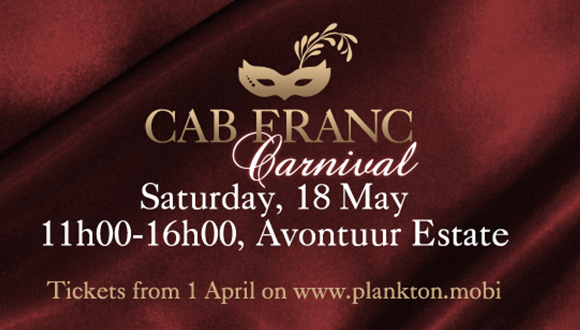 The 2019 Cabernet Franc Carnival takes place on Saturday, 18 May from 11-4 at sc...