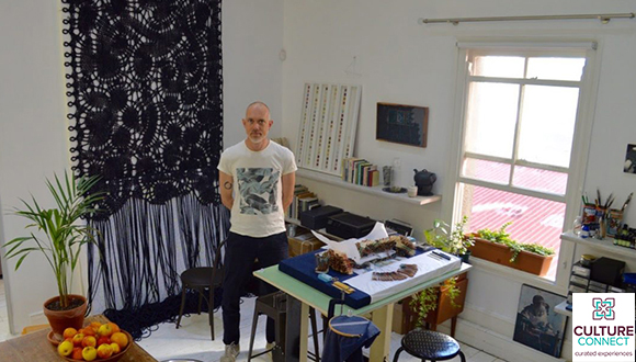 A really special opportunity to visit artists in situ, in a really small group (...