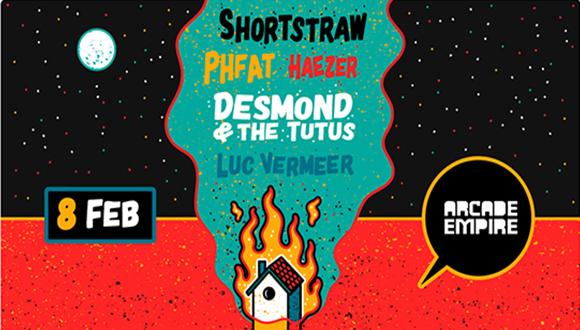 PHFAT, Shortstraw, Desmond and the Tutus, HAEZER live in Pretoria