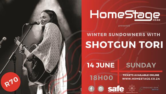 Join us for some Winter Sundowners with Shotgun Tori!Lo-fi Indie songwriter and ...