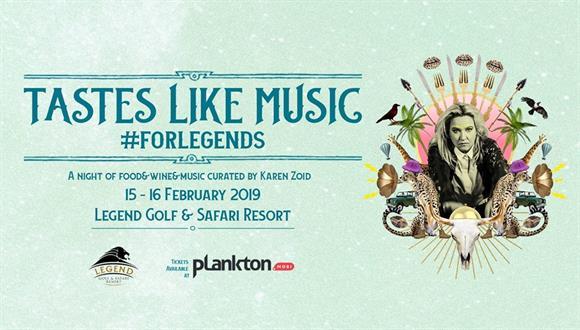 Legend Hospitality Group presents Tastes like Music #ForLegends featuring Karen ...