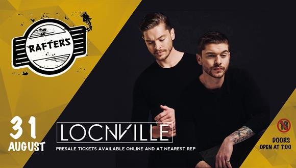 Twin brothers Andrew and Brian Chaplin (Locnville or previously LCNVL) have achi...