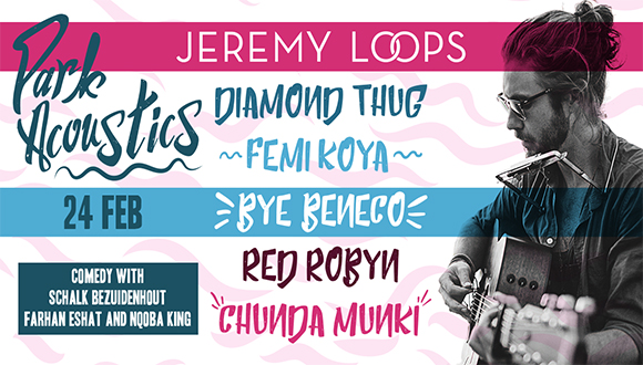 Park Acoustics in partnership with Pringles proudly presents Jeremy Loops and fr...