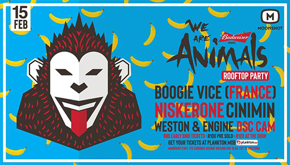 We Are Animals is back with a new venue and ready to go bigger than we have befo...