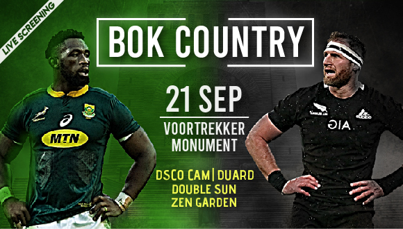 Rassie's Warriors presents Bok Country. We will be live screening the monumental...