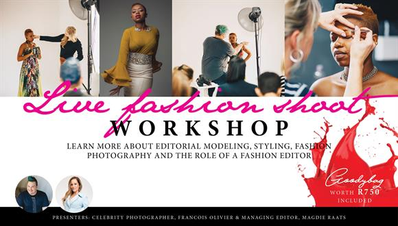 Fashion Shoot for BLOSS AFRICA Magazine turned into a Workshop.