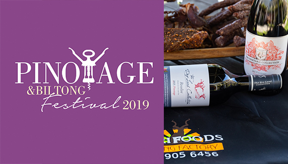 The Pinotage and Biltong Festival  takes place on Saturday, 13 April and Sunday ...