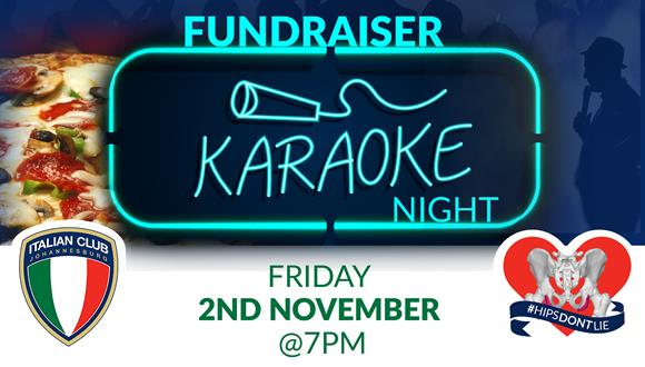 Come join us on Friday the 2nd of November for Karaoke Night at the Johannesburg...