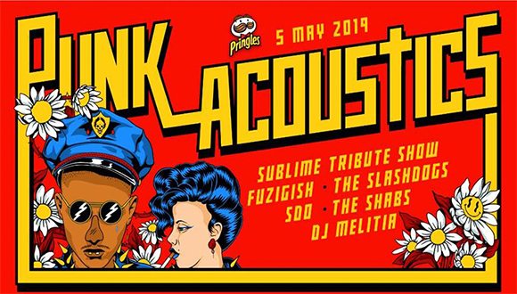 "Park Acoustics and Pringles proudly presents the inaugural annual ""Punk Acoustic..."