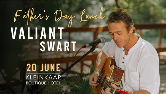 Spoil dad this Farther's Day with a hearty 3 course lunch and music by the talen...