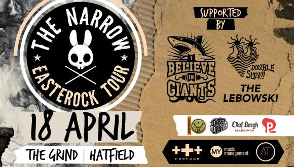 The Narrow returns after a sold out tour in South Africa and are ready to rock y...