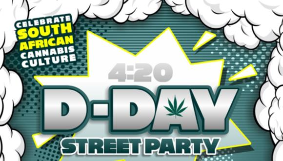 Celebrate South African Cannabis Culture at the 5th birthday Dagga Day 4.20 on t...