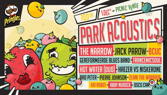 Park Acoustics and Pringles proudly celebrates our 100th Sunday concert with a M...