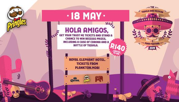 OLA AMIGOS, get your Sombreros and Tequila faces ready.On the 18th of May Pringl...