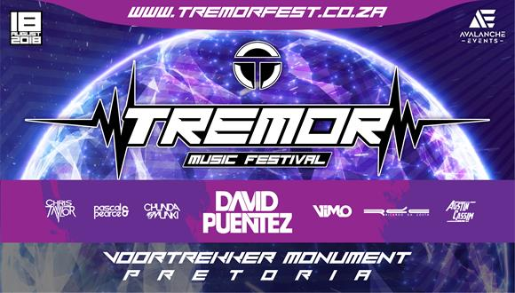 TREMOR Fest 2018 line-up! All the way from Germany and for the first time in Sou...