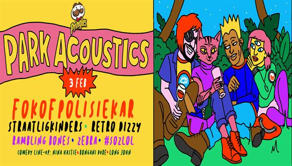 Park Acoustics & Pringles proudly presents Fokofpolisiekar with good friends Str...
