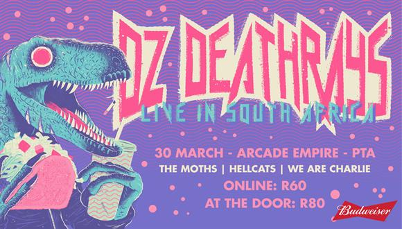 Budweiser presents DZ Deathrays from Australia featuring a super classy lineup i...