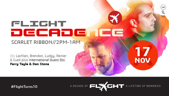 We are very excited to announce that for Flight's final 10th birthday celebratio...