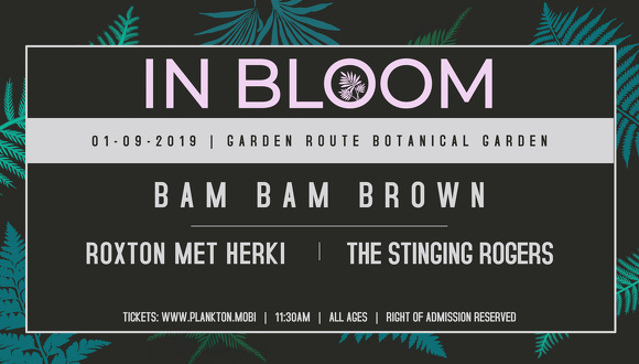 Loder AMP presents IN BLOOM Spring picnic concert featuring Bam Bam Brown; Josh ...